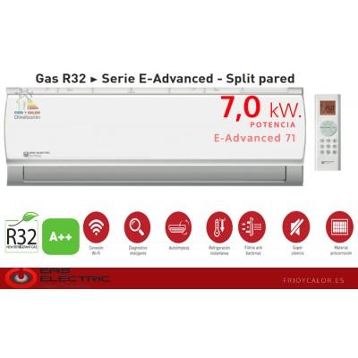 CJTO SPLIT EAS ELECTRIC R32 E-ADVANCED A++ WIFI