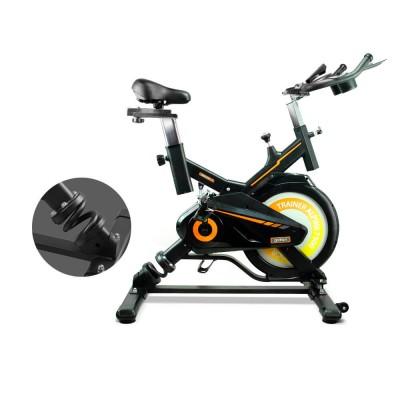 Bici Spinning indoor con volante de inercia de 15 Kgs y...