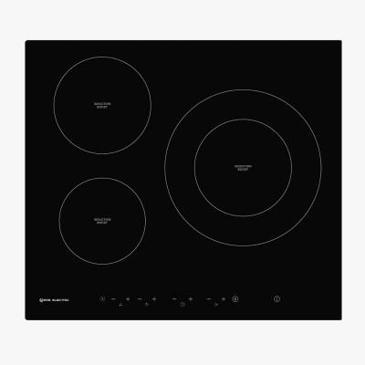 Placa de inducción 60 cm 3 zonas de cocinado